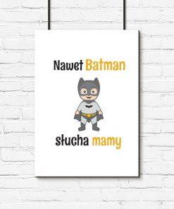 plakat z batmanem do pokoju dziecka