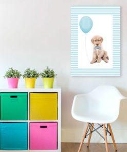 Plakat ze szczeniaczkiem do pokoju dziecka