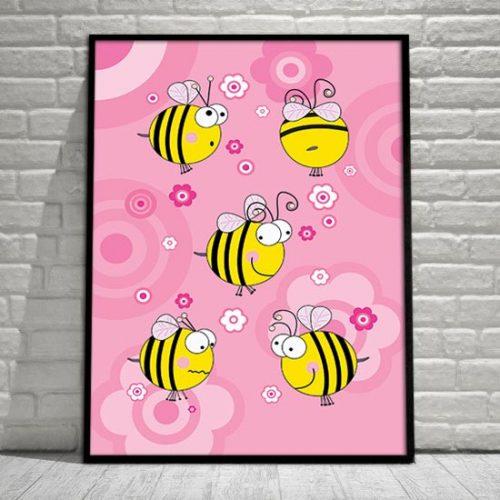 Pkalat z pszczołami do pokoju dziecka