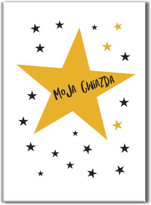 plakat z gwiazdami