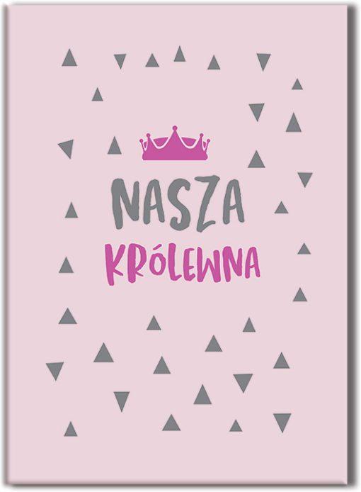 Plakat dla królewny