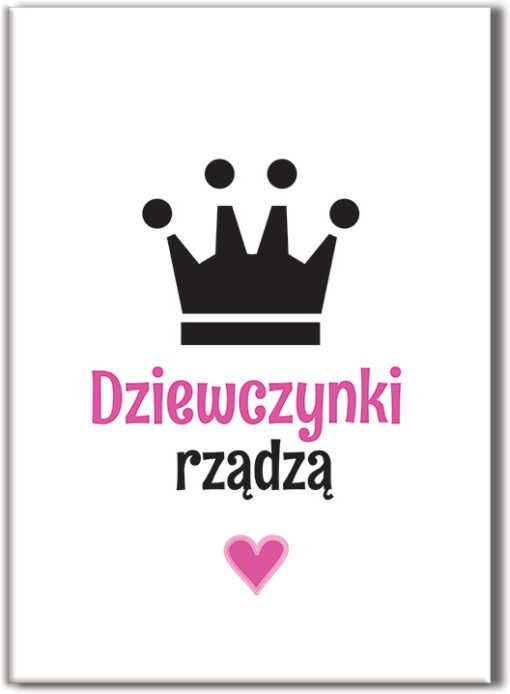 Plakat z koroną