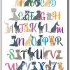 Plakat alfabet