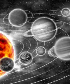 Tapeta słońce i kosmos