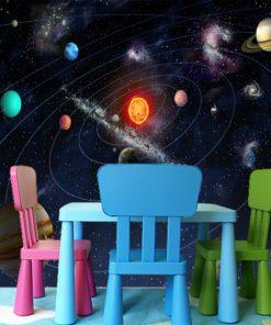 Fototapeta układ planet w kosmosie