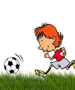 fototapeta piłkarska