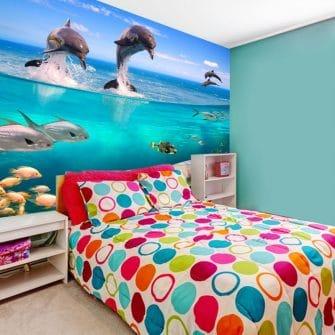 Fototapeta delfiny