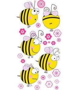ozodba pokoju dziecięcego z pszczółkamki