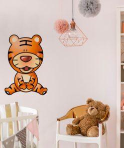 Dekoracja z tygryskiem