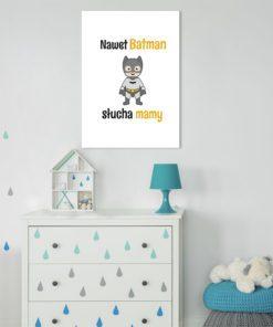 Plakat z Batmanem do dekoracji ścian