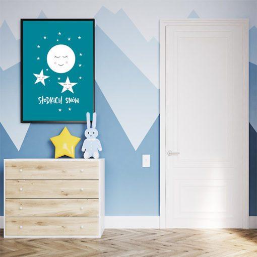 Plakat słodkich snów
