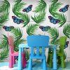Fototapeta w błękitne motylki
