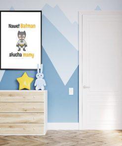 Plakat dla chłopca na ścianę
