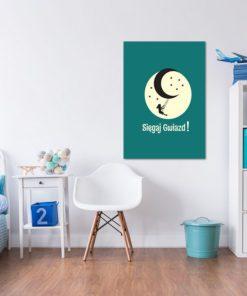 Plakat dla dzieci sięgaj gwiazd