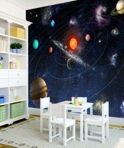 Dekoracja z kosmosem
