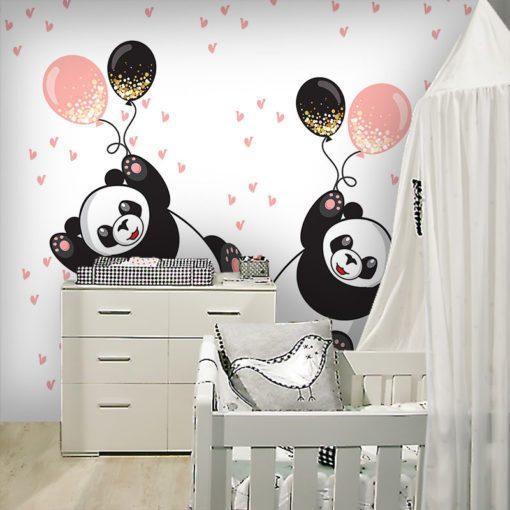 Tapeta wesołe pandy