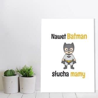 Plakat w ramie dla dzieci
