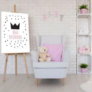 Dekoracja do pokoju małej księżniczki