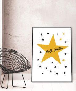 Plakat gwiazdki