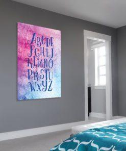 Plakat na ścianę do pokoju dziewczynki