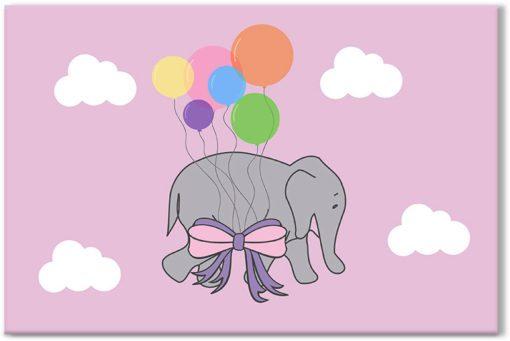 obraz ze sloniem
