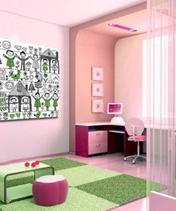 Obraz do dekoracji ścian w pokoju dziecka