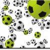 Obraz zielona piłka nożna