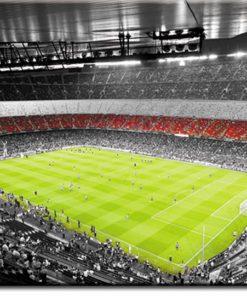 Obraz ze stadionem piłkarskim