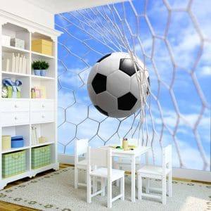 dekoracja stworzona dla pokoju małego chłopca