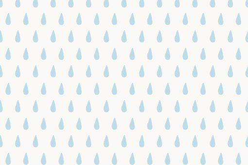 Tapeta z kroplami deszczu dla dzieci