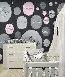 Fototapeta z modnym motywem do pokoju nastolatki