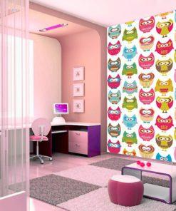 Tapeta sowy na ścianę