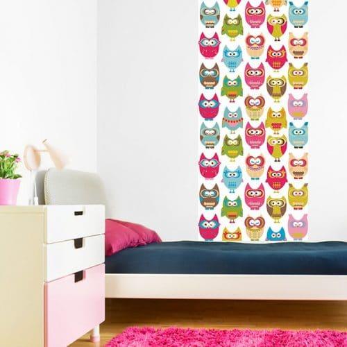 Fototapeta z sowami do pokoju dziecka