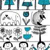 Dziewczynki w sukienkach na tapecie