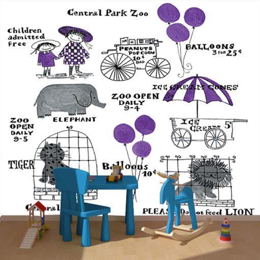 Tapeta zoo