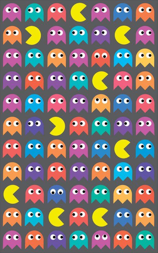 Dekoracja z motywem Pac-mana dla chłopca