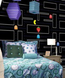 Ozdoba z Pac-Manem do pokoju dziecka