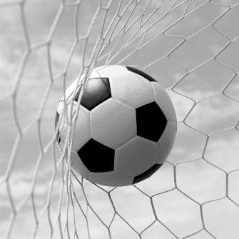 Fototapeta z piłką nożną