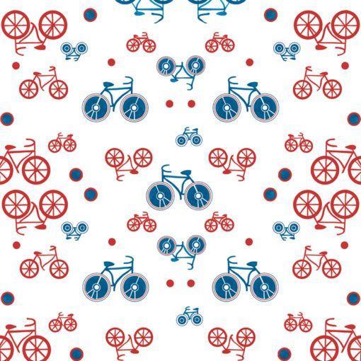 Tapeta kolorowe rowery
