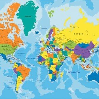 Mapa do pokoju chłopca lub dziewczynki