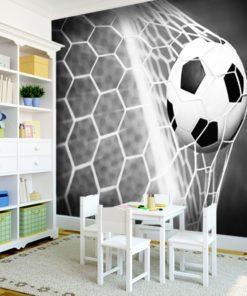 Fototapeta do pokoju małego piłkarza