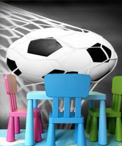 Fototapeta z piłką dla małych sportowców