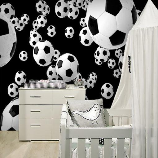 Tapeta świetna to ozdoby dziecięcego pomieszczenia