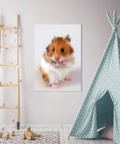 Obraz wesołe zwierzątko