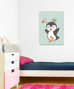 Obraz pingwin