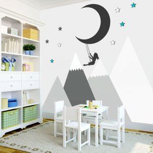 góry dla dzieci na ściane