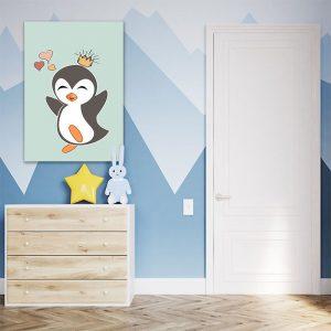 Obraz pingwinek dla dzieci