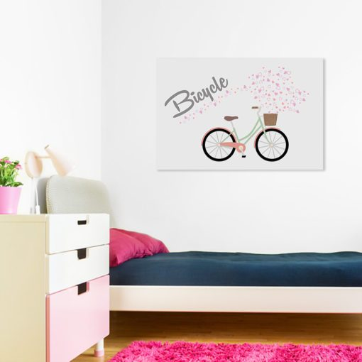 obrazek z rowerem