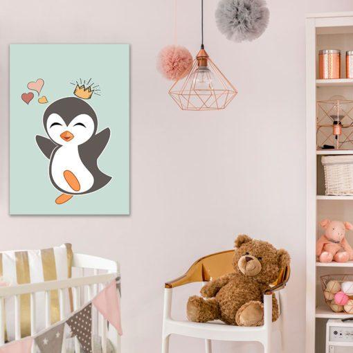 Obraz z pingwinkiem