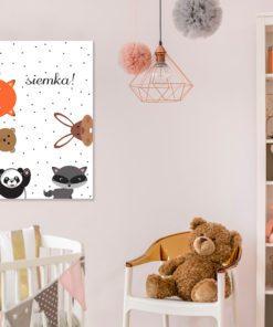 Obrazek dla dzieci ze zwierzakami